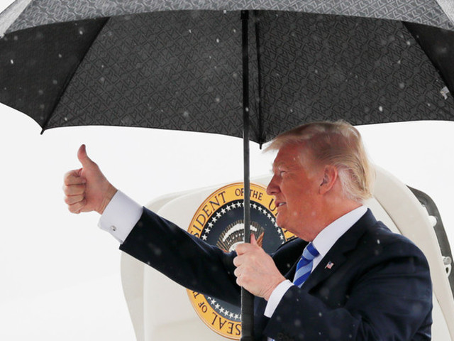 'It'll change back?' Trump mocked for his 'natural instinct for science' on climate change
