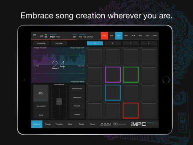 Akai Releases iMPC Pro 2