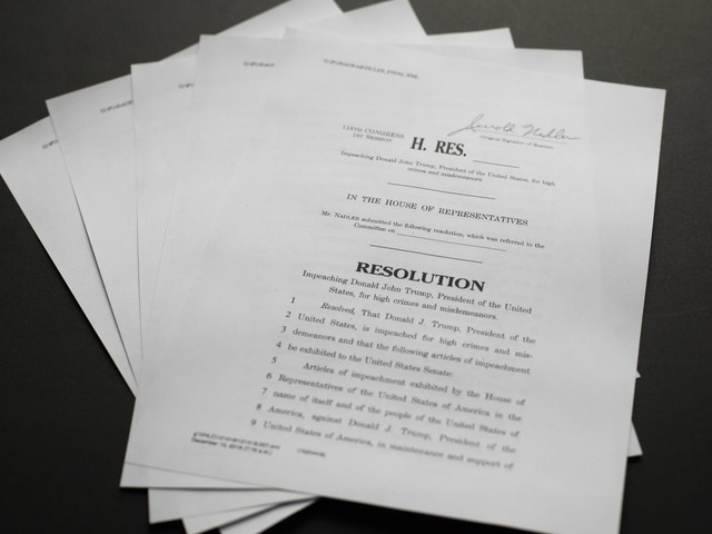 Assessing the case made by Democrats in the articles of impeachment