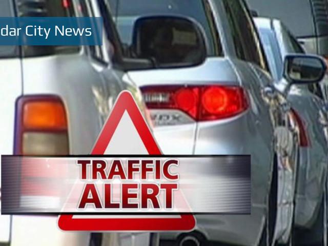 Traffic Advisory: Crash blocking southbound I-15 near Leeds