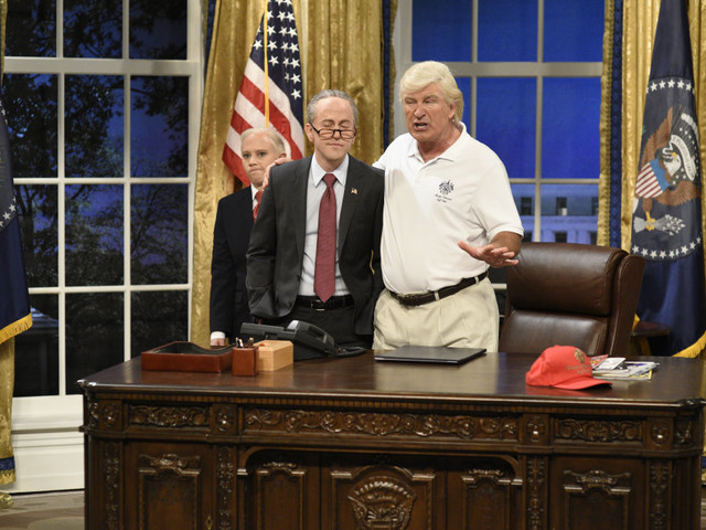 'Saturday Night Live' season 43 premiere takes on Trump's response to Puerto Rico