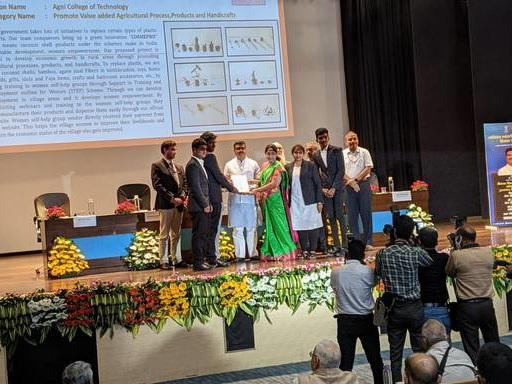 Agni College of Technology wins Vishwakarma awards, 2020