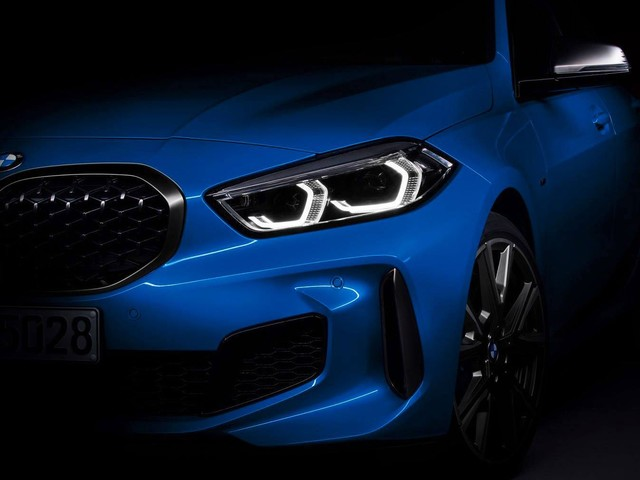 2020 BMW 1-Series Drops Camo In Official Teasers, Reveals Digital Gauges