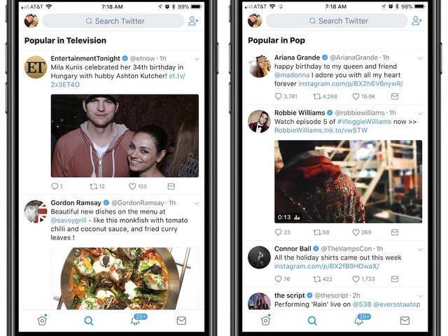 Twitter Rolling Out Tweets Organized by 'Popular' Topics, Based on Your Interests