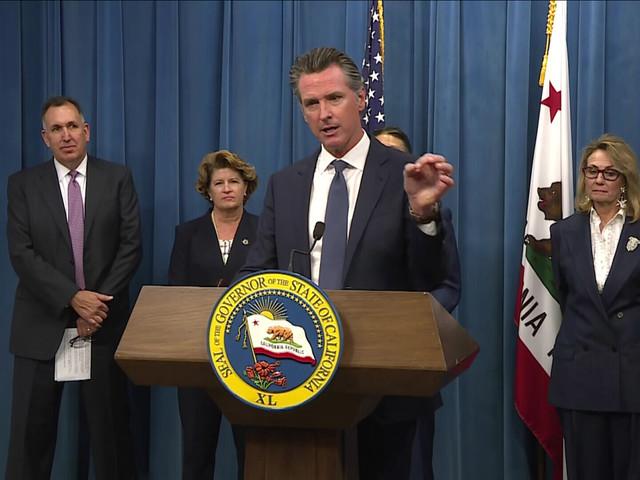 California Gov. Gavin Newsom Announces Changes At Troubled DMV