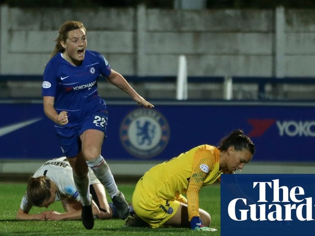 Hannah Blundell and Erin Cuthbert put Chelsea in the driving seat against PSG