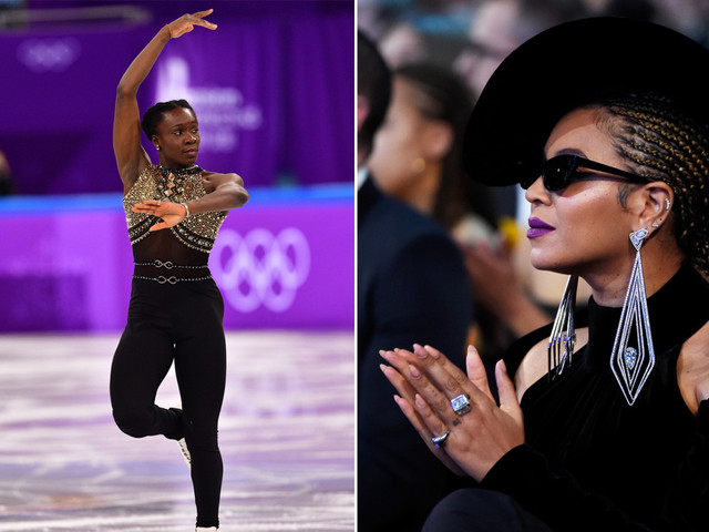 French skater is the first to perform Beyoncé on ice