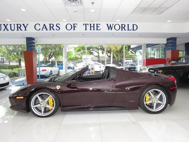 2014 Ferrari 458--Spider 2dr Convertible