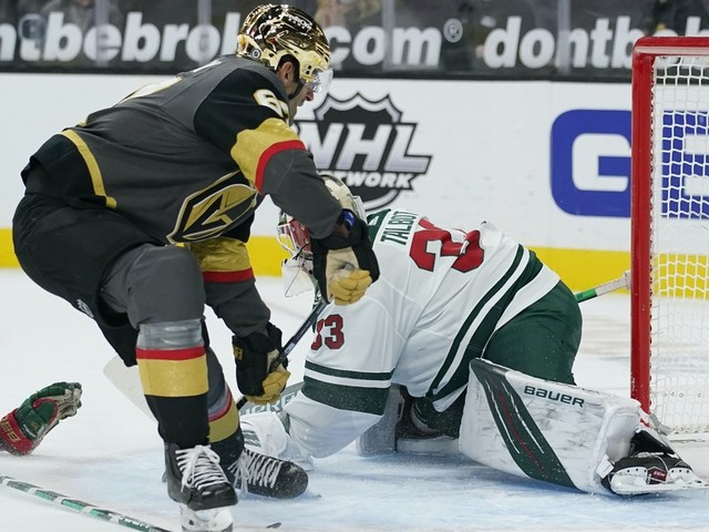 Wild gives up two-goal lead in third period, falls to Vegas 5-4 in overtime