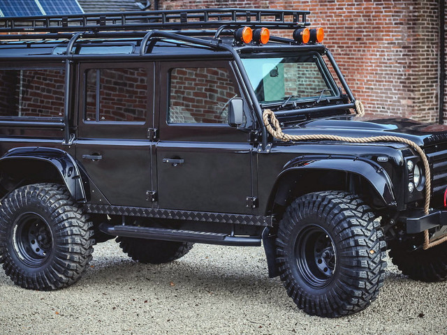 Be Like 007 In This $60,000 Land Rover Defender 'Spectre' Replica
