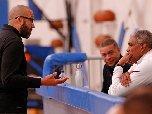 Steve Mills didn't know about Knicks' players-only meeting before firing David Fizdale