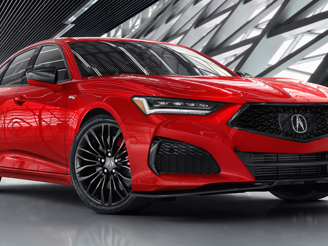 The Acura Type S Is Back, But The Manual Gearbox Isn't Coming To The TLX