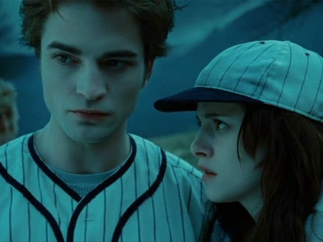 An ode to the vampire baseball scene in 'Twilight'
