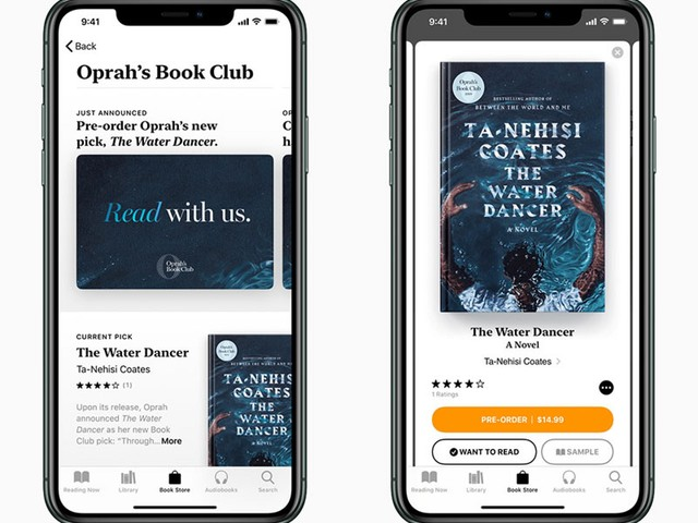Oprah's Book Club Launches on Apple Books, Apple TV+ Series Premieres November 1