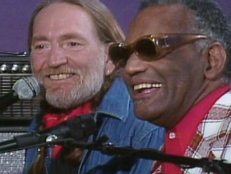 """Willie Nelson & Ray Charles Sing a Moving Duet """"Seven Spanish Angels"""": A Beautiful Bridge That Crosses Musical & Racial Divides"""