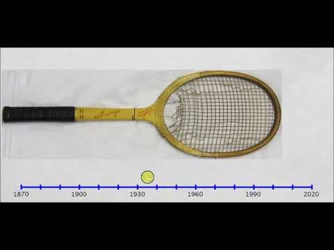 The History of Tennis Rackets