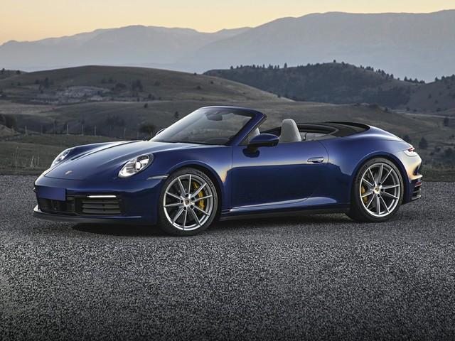 2021 Porsche 911--Carrera--Cabriolet
