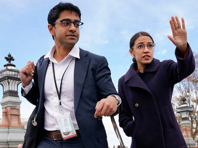Two of Alexandria Ocasio-Cortez's top staffers leaving her congressional office after weeks of tumultuous infighting among House Democrats