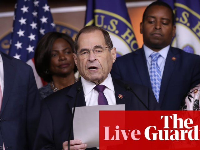 Democrats request Mueller report evidence to decide impeachment strategy – live