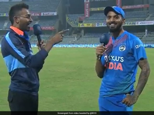 """Dressing Room Feels Empty Without You"": KL Rahul Tells Hardik Pandya"