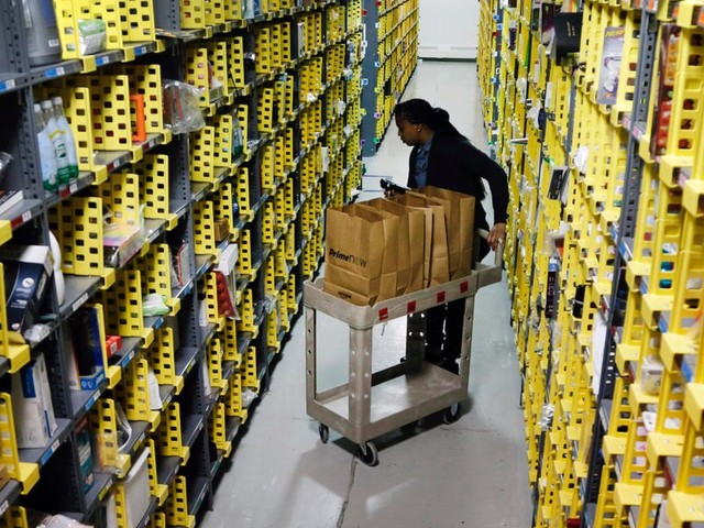 Warehouses are the new darling of commercial real-estate thanks to a surge in e-commerce, with firms like Macy's and Boeing selling while Amazon snaps space up