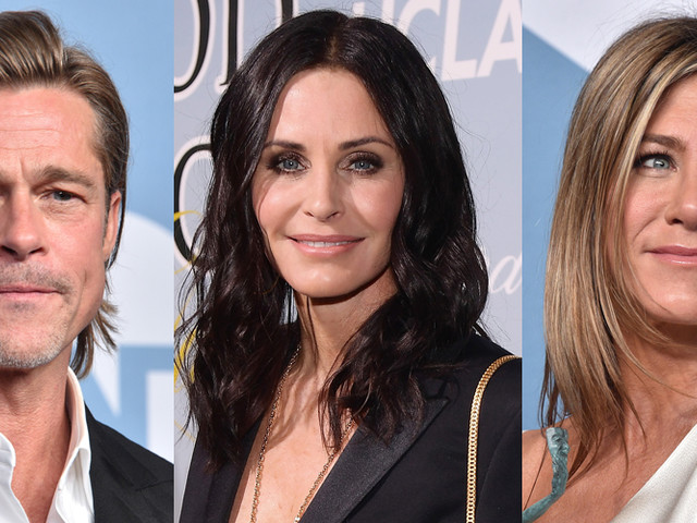 Fans Are Noticing This One Tweet That Courteney Cox 'Liked' About Jennifer Aniston & Brad Pitt