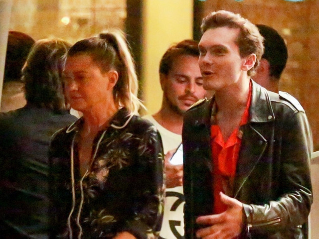 Ellen Pompeo Hangs Out with 'Shadowhunters' Actor Luke Baines