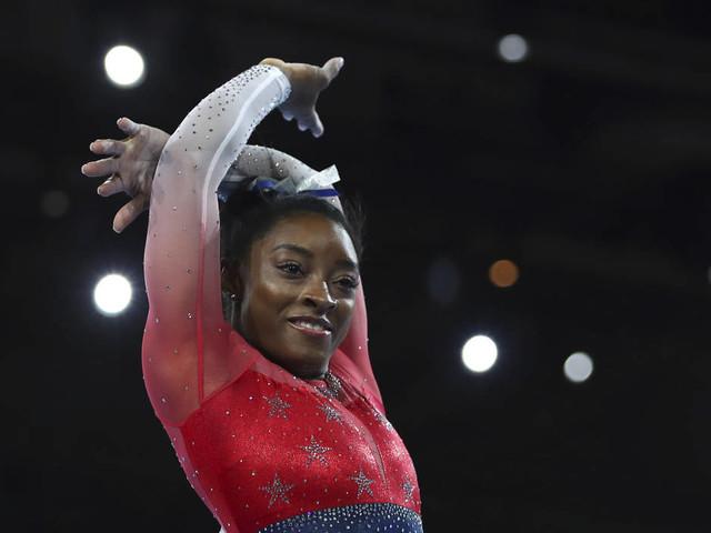 Simone Biles sets record as US wins world gymnastics team gold