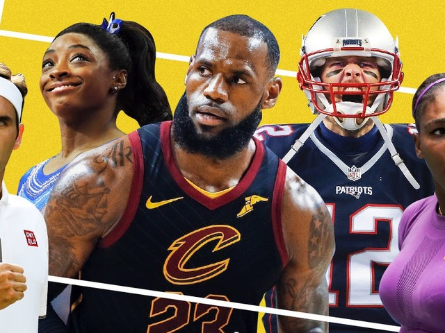 The most dominant athletes of the decade
