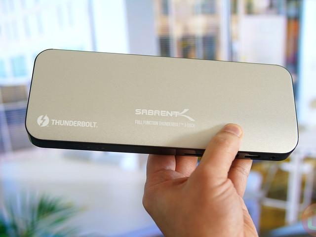 Sabrent Thunderbolt 3 DS-TH3C Docking Station Review