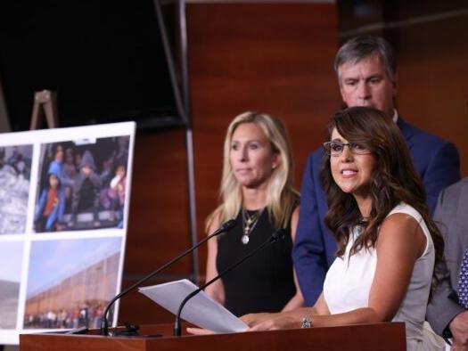 "23 Republicans Move To Censure Biden For ""Dereliction Of Duty"" At Border"