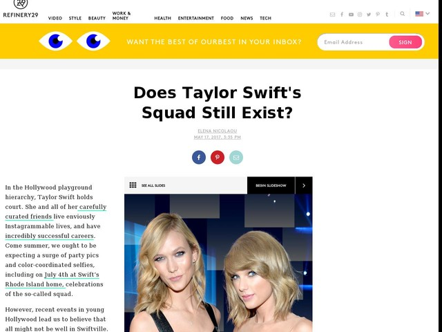 Does Taylor Swift's Squad Still Exist?