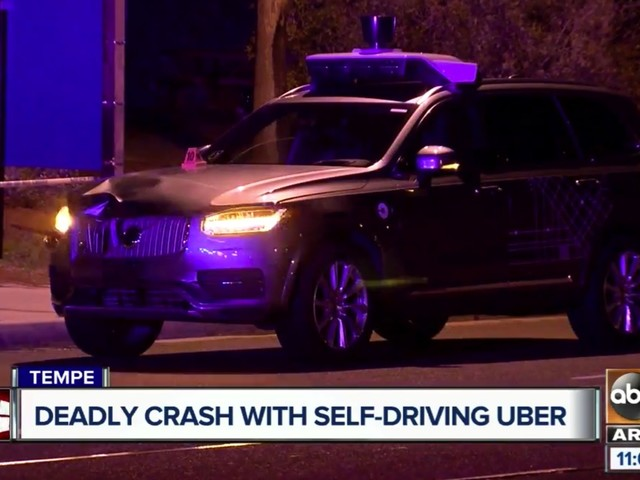 Uber Self Driving Car California Ting