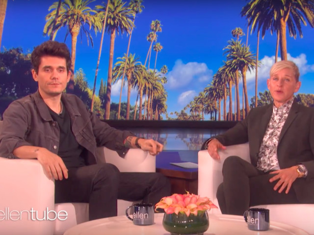 "John Mayer Talks Sobriety On ""Ellen"""