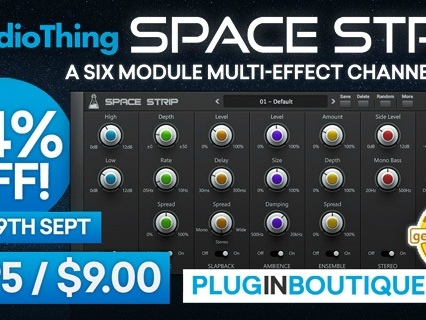 DEAL: AudioThing Space Strip - Save 84% At $9.00