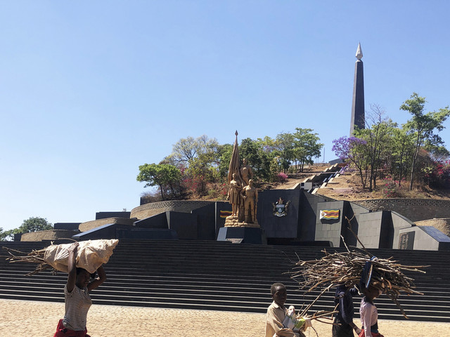 Confusion over Mugabe's burial leaves incomplete mausoleum