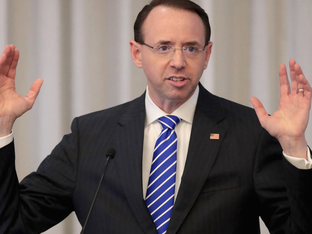 Report: Rod Rosenstein — who currently oversees Mueller probe — plans to leave DOJ after William Barr gets confirmed