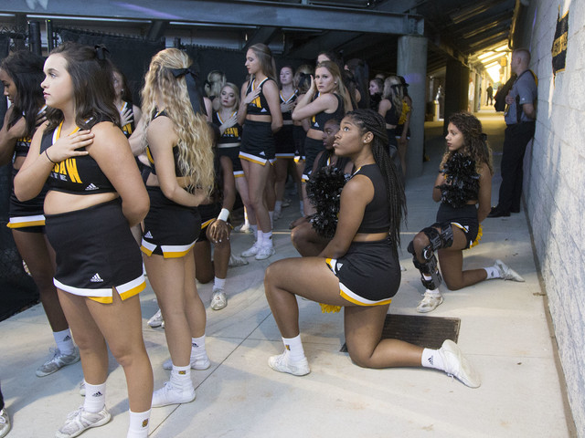 University Cheerleaders Who Knelt for Anthem to be on Field for Veterans Day Game
