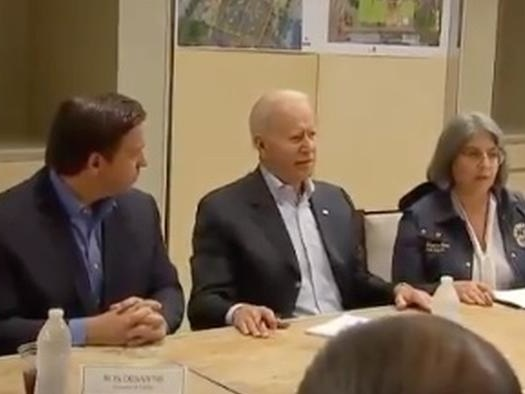 """""""Know What's Good About This?"""" Biden Finds 'Silver Lining' To Horrific Florida Condo Collapse"""