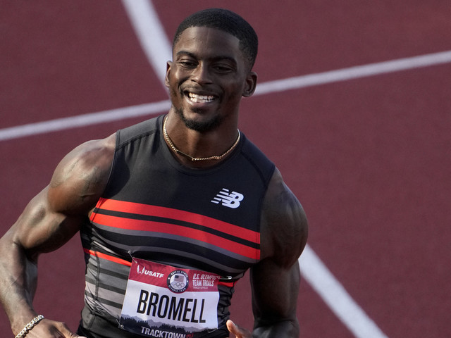 In post-Bolt Olympics, Bromell takes humble road in 100