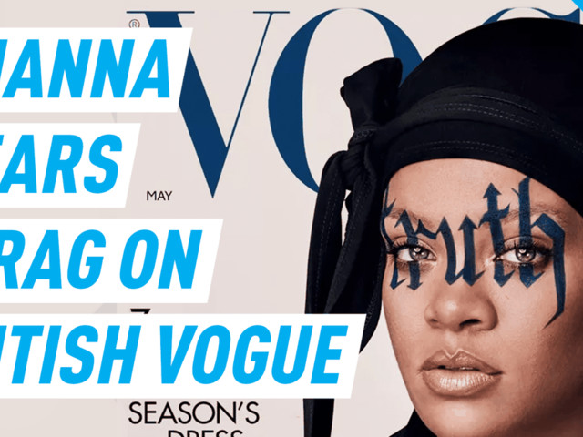 Rihanna is first 'British Vogue' cover star to don a durag
