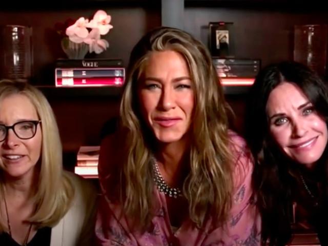 Jennifer Aniston's Emmys party was a surprise mini 'Friends' reunion