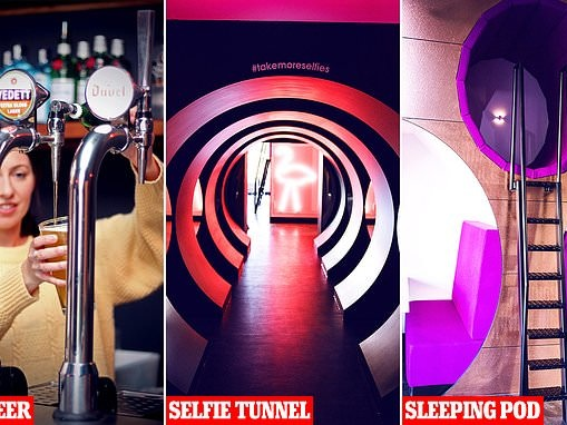 Not so bored-rooms! Inside Britain's quirkiest offices