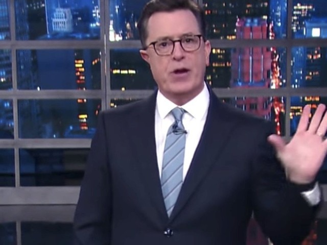 Stephen Colbert Slams Donald Trump's 'Unprecedented Public Stroke-Fest'