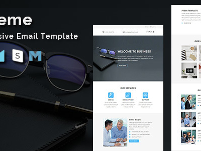 Xtreme - Multipurpose Responsive Email Template (Newsletters)