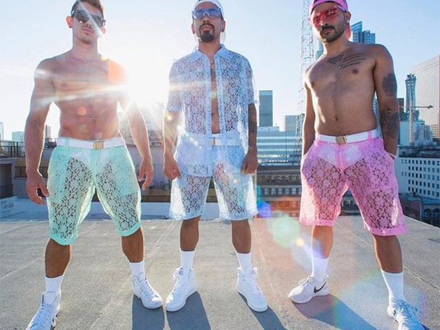 Lace Men's Shorts Are Here For The Summer