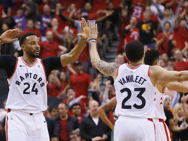 The Raptors aren't back. They never left