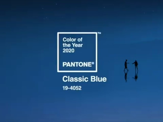 Classic Blue is Pantone Color Institute's color of the year for 2020