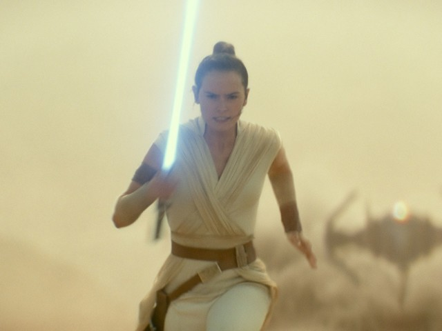 The Odd Physics of Rey's Backflip in *Star Wars: Episode IX*