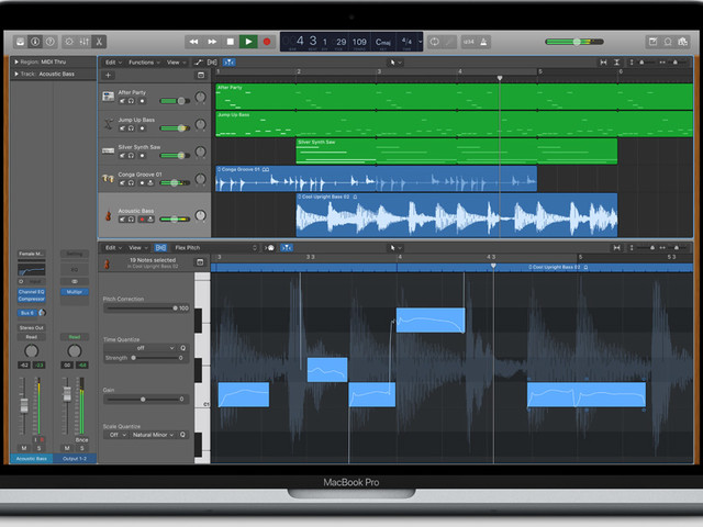 Logic Pro X update adds features, more flexibility with sound